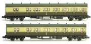 Dapol 2P-003-003 B Set Coach Twin Pack Great Crest Western 6894 & 6895